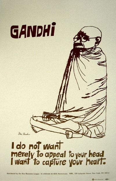 gandhi - social change